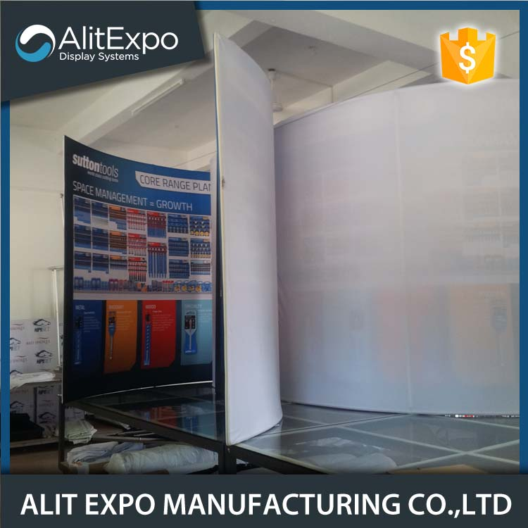 Decoration portable trade show exhibition display booth