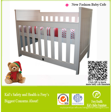 Cuna de madera de pino / Cuna / Cama para muebles de bebé