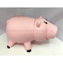 Custom Soft Plastic Craft Saving Money Box Piggy Bank Toy
