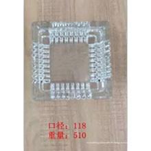 Cristal Cenicero de cristal cuadrado con buen precio Kb-Hn07672