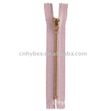 No.4 Yellow Brass Zipper