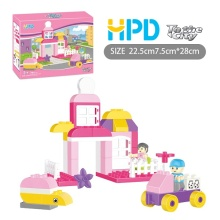 Plastic Educational Building Blocks Toys With Storyline