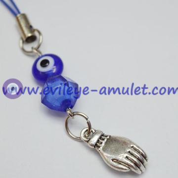Bergamot Guanyin Evil Eye Hamsa Phone Pendant