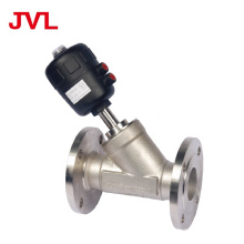 JL2002-J3 plastic head air control pneumatic stainless steel angle seat valve