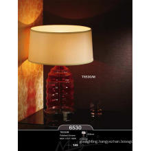 Glass Entrance Table Lamp for Hotel Project
