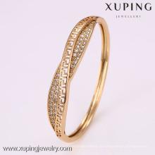 50899 Xuping африканских стерлингового мужские позолоченные дешевые бенгальские свадебные браслеты