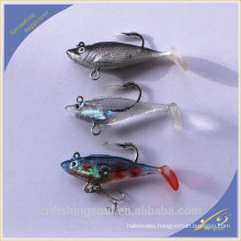 SLL006 new fishing lure for sea fishing lure salt water lead head soft lure