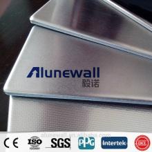 Alufenwall hochwertige Edelstahl / Aluminium-Verbundduschverkleidung mit bestem Preis