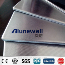 Alunewall высококачественной нержавеющей стали /алюминиевых составная душевая панель плакирования с самым лучшим ценой