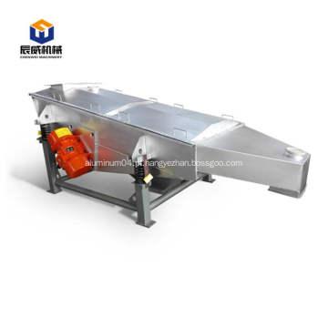 Máquina de triagem linear de alta eficiência usada em alimentos
