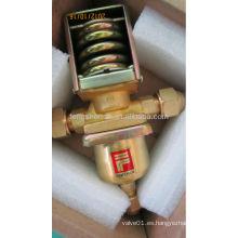 Regulador de presión de agua del refrigerador de alta presión ajustable