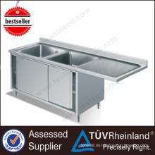 Productos de diseño de Europa Tamaño de fregadero de cocina estándar comercial profundo