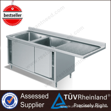 Europe Design Products Deep Commercial Standard Tamanho da pia da cozinha