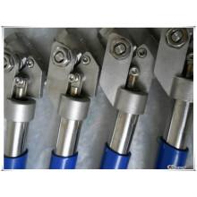 Válvula de esfera de aço inoxidável de duas peças de reposição automática