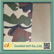 Tissu d'Oxford de Camouflage poly sac usage