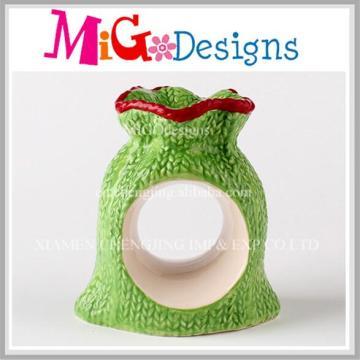 Home Basics Porte-serviettes Collection de simplicité en céramique