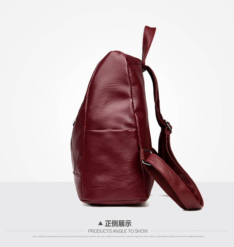 Women's Genuine Leather Backpack