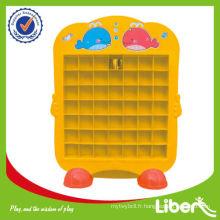 Étagère en plastique pour enfants LE-SK009 avec bas prix Qualit