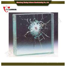 A fábrica fornece um tamanho máximo de vidro à prova de bala