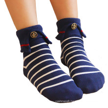 Women′s Cotton Socking Socks with Colar (WA053)