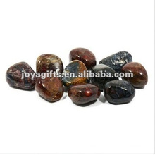 High Polished Gemstone luminous pebble stone
