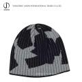 Chapeau d'hiver Jacquard Bonnet Jacquard Bonnet Jacquard Toile Acrylique Bonnet