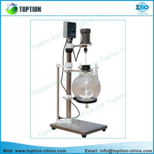 TOPTF-20L glass liquid seperator/ lab liquid separation equipment