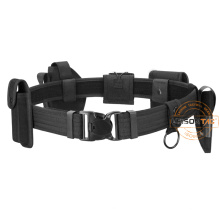 Tactical Duty Belt with Pouches ISO standard for security outdoor sports hunting game