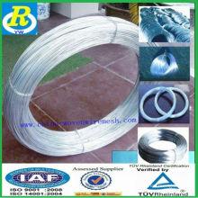 Обвязочная проволока / импорт dubai оцинкованная проволока / строительный материал