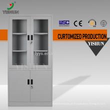 Made in China móveis de escritório 2 porta com fechadura de aço inoxidável armário de armazenamento