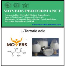 Suministre Grado Alimenticio L-Tartárico Acido con Mejor Precio