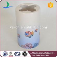 Diseño de los pescados del mar dolomita sostenedor del cepillo de dientes