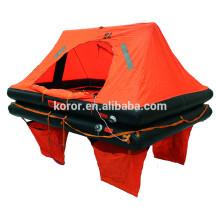 Life raft 4 person brand solas
