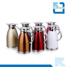 1.8L / 2.3L Colorido 304 de acero inoxidable de agua de té de vacío de la cafetera de café Kettle