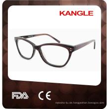 2017 New eigenes Design hochwertige Acetat optische Rahmen, Brillen