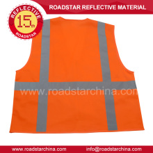 Construction workers reflective safety jacket