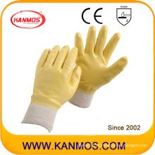 Anti-Rutsch-Nitril-Jersey beschichtete Arbeitsschutz-Handschuhe (53007)