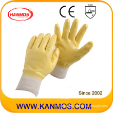 Anti-Slipping Nitrile Jersey Coated Industrial Safety Work Gloves (53007)