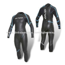 Full Wetsuit with YKK Zipper on Back and Zigzag Stitch on Arms/Cuffs
