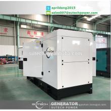 Grupos electrógenos diesel silenciosos 150Kva, accionados por el motor 4Bbe34rw3 6BTAA5.9-G2