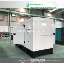 150Kva silent diesel generator sets, powered by Cummins engine 6BTAA5.9-G2