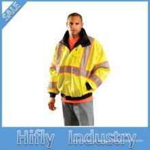 SV-753 3 M de alta visibilidade reflexiva roupas protetoras construção ferroviária mangas compridas colete de segurança