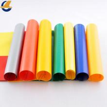 Tela de lona de vinilo anti-desgarro personalizada en color