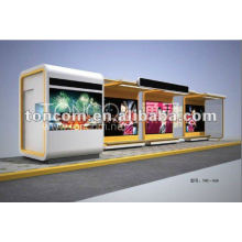 bus shelter for advertising