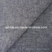 De bonne qualité Coton / Poly / Lin / Spandex Denim Fabric (QF13-0732)