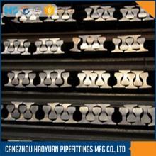 QU120 U71Mn 12mtr kranladdning stålskena