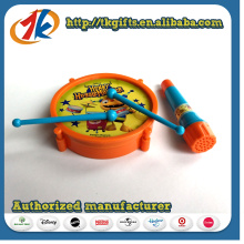 Kids Cute Plastic Drum Toy with Non-Function Microphone