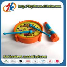 Jouet de batterie en plastique mignon pour enfants avec microphone sans fonction