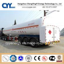China 2015 Tanker LNG Lox Lin Auflieger mit ASME GB Standard