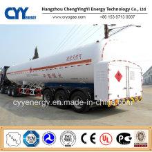China 2015 Tanker LNG Lox Lin Semi Trailer with ASME GB Standard